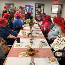 Orchard - Red Hat Society Tea Party